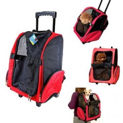 Bolsa de Transporte com Rodinha Pet Smart